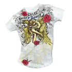GUNS N' ROSES - CHERUB - OFFICIAL WOMENS T SHIRT - LARGE (L)