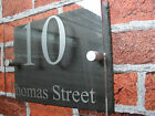 Slate Sign with Twist!! Acrylic and Slate sign! house sign number sign door