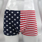 G8424 New Mens Trunk Boxer Briefs Stars and Stripes Patriotic