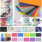 """Rubberized Hard Case Shell Keyboard Cover for Macbook Pro 13/15"""" Air 11""""/13"""" M1"""
