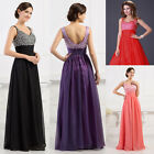 XMAS Masquerade Evening Prom Dress Bridesmaid Long Celeb Party Ball Gown AU FAST