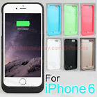 3500mAh Backup Power bank External Charger Cover Battery Case for iphone 6 4.7""