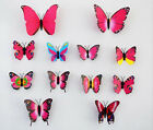 12pcs 3D Butterfly Art Design Decal Wall Stickers Home Decor Room Decorations