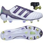 Adidas ADIPOWER PREDATOR XTRX SG football boots trainers white purple gold NEW