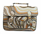 New Swirl Colors Shoulder Bag Messenger Crossbody Satchel Handbag Large Rainbow