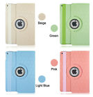 For iPad Air 2 9.7inch 360 Degree Rotating PU Leather Case Smart Cover