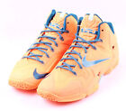 Nike LeBron XI # 616175 800 Atomic Orange Men SZ 7 - 13