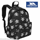 TRESPASS School Kids Backpack Rucksack Bag Pirate Skull Childrens Girl Boy Black