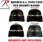 Kevlar PAGST CAT EYES Tactical Military Helmet Cover CATS EYE HELMET BAND #1