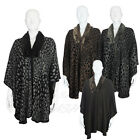 Ladies Womens Cape Boutique One Size Faux Fur Shawl Wrap Winter Warm Poncho