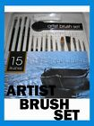 MIXED PAINT BRUSH BRUSHES WAR GAMES MODELS ART CRAFTS OILS ACRYLIC WATER COLOURS