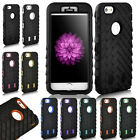 New Hybrid Hard Heavy Duty Rugged Back Case TPU Cover For Apple iPhone 6 4.7Inch
