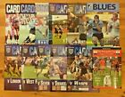 Cardiff Rugby Programmes 1997 - 2005
