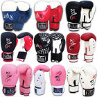 Boxing Gloves Rex Leather Sparring PunchBag Pads Grappling MMA Gloves