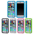 Sale Hot TPU Flip Wrap Up Case Cover w/ Built In Screen Protector For iPhone 5C