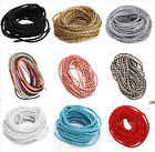 5/100M Imitation Leather Braid Rope Hemp Cords For Jewelry/Craft Make,14 Colors