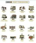Superquick Card Kits - Series B Country Town Buildings Multi Listing - OO Gauge