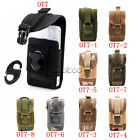 Tactical Outdoor Army Molle Bag Cover Case Belt Loop Hook Pouch for iPhone 5S 5