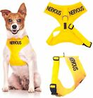 Vest Dog Pet Harness Safety Puppy Easy Walking Adjustable New S M Yellow NERVOUS