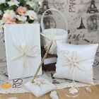 Wedding Series Guest Book And Pen Set Flower Girl Basket Star Ring Pillow Bridal