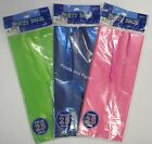 25 Lolly Goodies Party Treat Bags 24x10cm in Blue, Pink or Green with Twist Ties