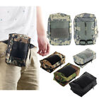 Waterproof Army Camo Bag For Mobile Phone Hook Cover Case Key Card Pouch Holster