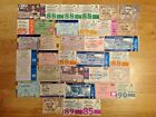 Scotland Used Rugby Tickets 1960 - 2009