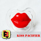 Kiss Lips Pacifier (Lip Paci) - baby photo booth - baby shower - Dummy Baby