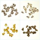 Nice 100pcs Bullet Earring Stoppers Plug Back Diy Jewelry Making Findings 6x5mm