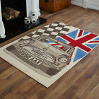CHEAP NEW LARGE EXTRA LARGE CHECKED FLAG PATTERN UNION JACK BEST QUALITY RUGS!!!