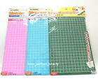 Daiso Portable Cutting Mat for Paper Crafts 22.5 x 15 cm 3 Colors x 1