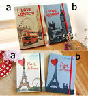 7321 Photo Diary Journal Scheduler - I love London, Paris Je T'aime Diary
