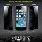 Privacy Anti-Spy Tempered Glass Screen Protector for iPhone 4 4S 5 5S 6 6 Plus