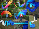 various designs, 1pc 2.5m*0.9m silk dance throw streamer, light, strong&stitched