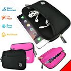 Slim Shock Proof Water Resistant Neoprene Sleeve Bag Case Cover for 6-7 Tablet