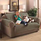 ITS GREEN MICROFIBER PET DOG KIDS SLIP COVER SOFA LOVESEAT CHAIR PROTECTOR