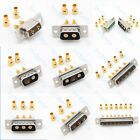 D-SUB DB Pin Plug Jack Signal Connector Gold plate for RG174 RG316 Coaxial Cable