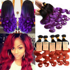 """Special Color!  100% UNPROCESSED HUMAN HAIR Extensions Lady Hair Weave10""""- 30""""6A"""