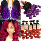 "Special Color! 10""- 30"" HUMAN HAIR Extensions 100%UNPROCESSED 100g Hair Weave 6A"
