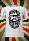 Respect The Beard Moustache Tumblr Fashion T Shirt Men Women Unisex 1754