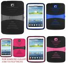 For Samsung Galaxy Tab 3 7.0 / 7-inch T217S Tablet Armor Rugged Cover Hard Case