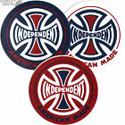 "INDEPENDENT ""American Made"" Skateboard Snowboard Sticker 9cm Red White or Black"