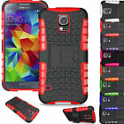 NEW HEAVY DUTY TOUGH SHOCKPROOF WITH STAND HARD CASE COVER FOR SAMSUNG S5 i9600