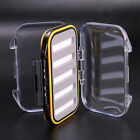 Waterproof Double Side Fly Box Fly Fishing Box Clear 4 Sizes Fishing Tackle Box