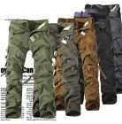 Hot Fashion Casual Mens Military Army Cargo Camo Combat Work Trousers Pants