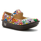 Alegria Womens PALOMA PRO FLOWER POWER Leather Mary Jane Comfort Shoes PAL-529