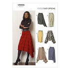 Vogue V8956 Sewing Pattern Misses' Semi-Fitted Wrap Skirt - Easy
