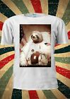 Spaceman Sloth Astronaut Funny Cool Hype Fresh T Shirt Men Women Unisex 1296