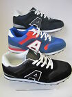 Mens Navy / Black / Blue Lace Up Air Tech Trainers UK Sizes 7 - 11 Campus