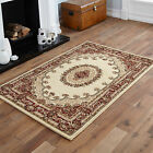 LARGE EXTRA LARGE MEDIUM MODERN BEIGE COLOUR TRADITIONAL CLASSIC ELEGANT RUGS